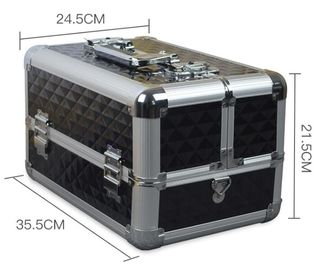 Hard Shell Aluminum Storage Case Fashion Style For Cosmetic Storage